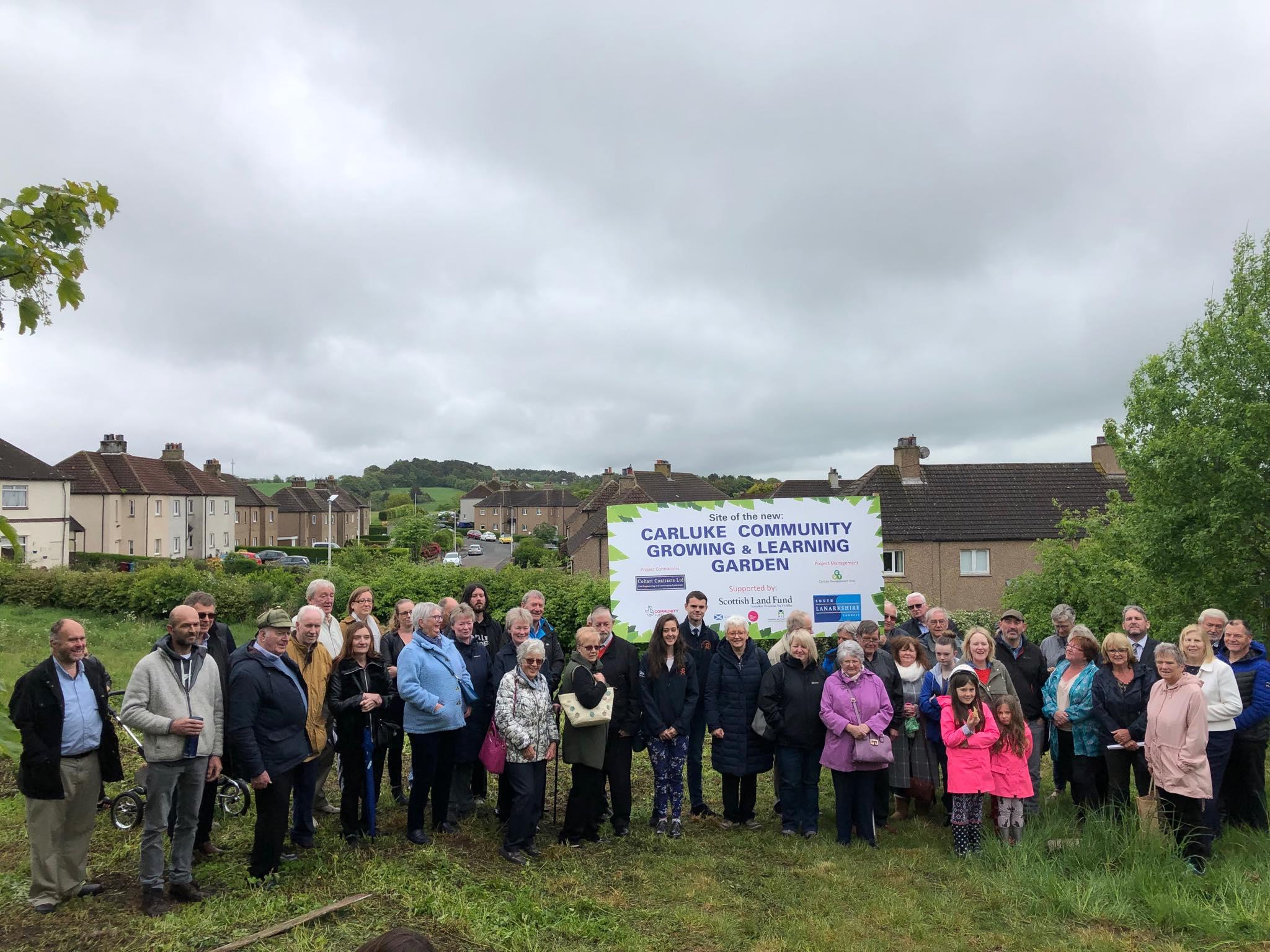 ONECarluke Community Growing & Learning Garden opening!