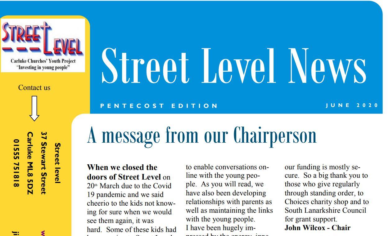 Street Level Newsletter