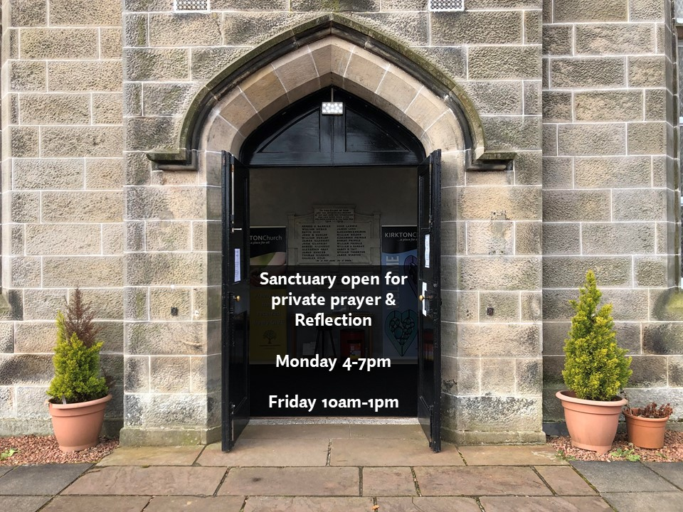 Kirkton Church opening times.