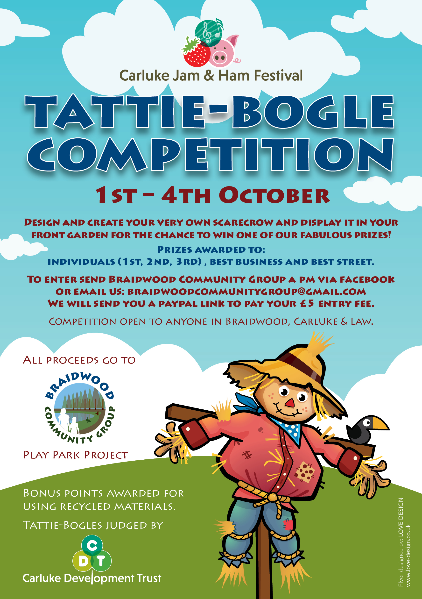 Tattie Bogie Competition, Carluke, Law, Braidwood