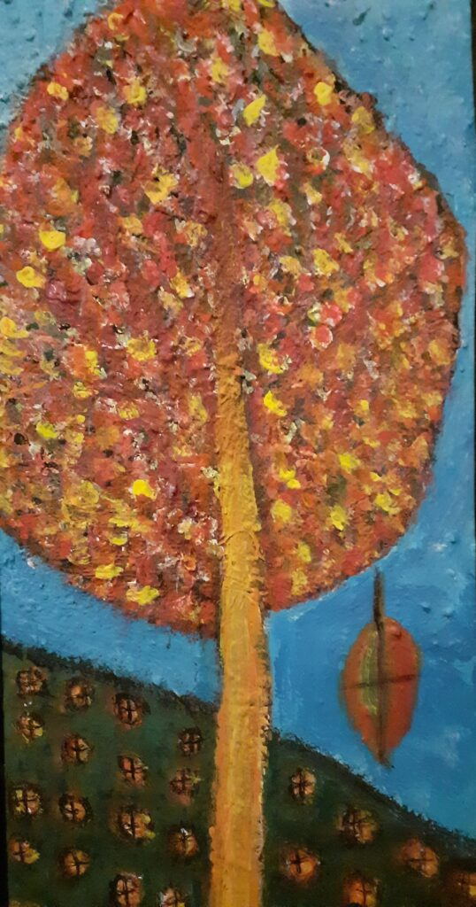 Evelyn Mcewan – CROSS Thom The Leaves of Life Keep Falling One by One@2x