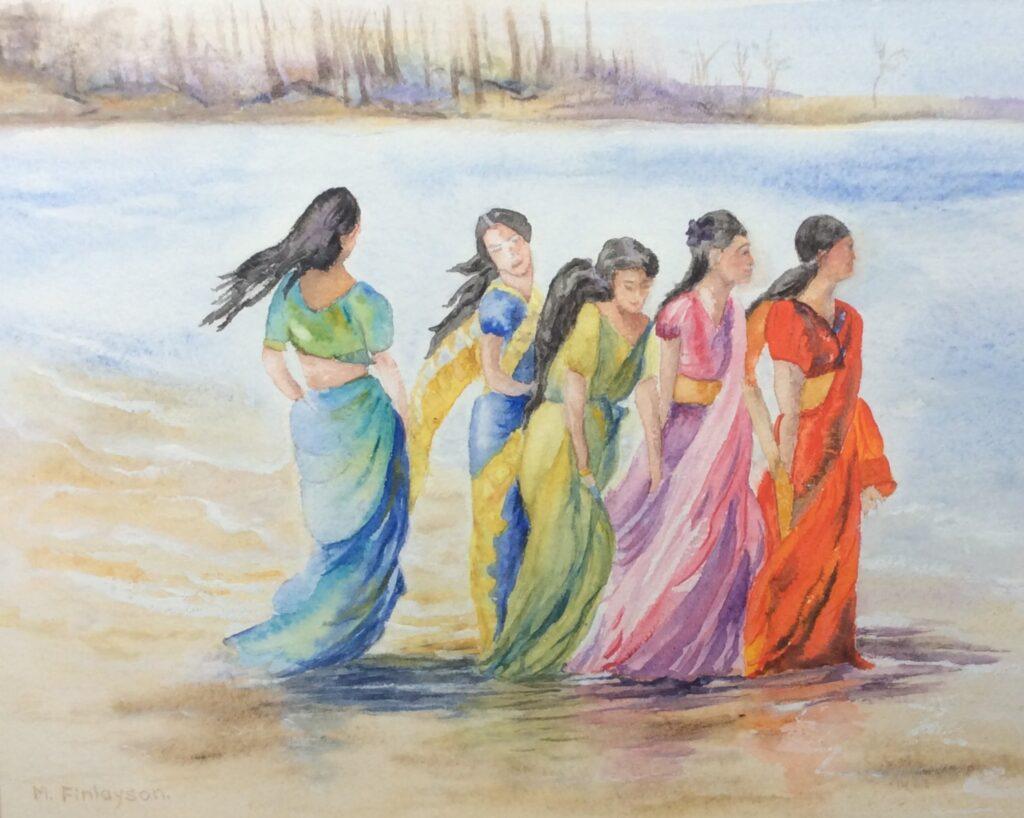 Evelyn Mcewan – FINLAYSON Mary Summers on the beach@2x