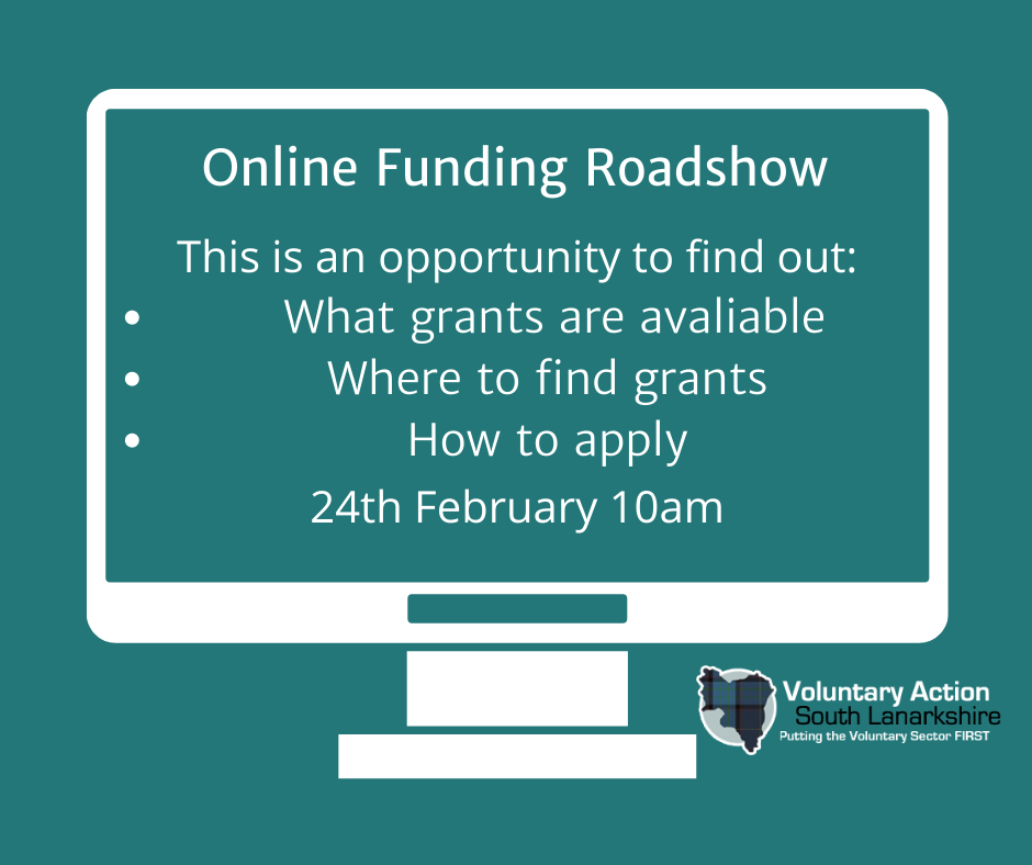 Online Funding Roadshow – 10am, 24th February