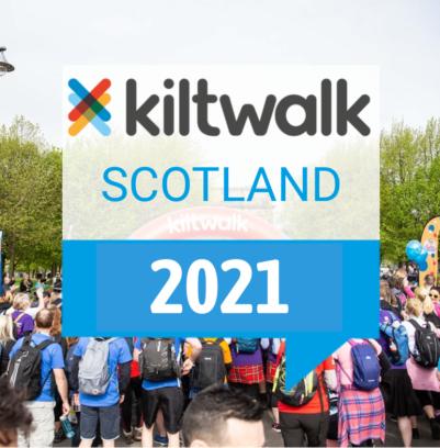 Kiltwalk 2021 – Help raise funds for Carluke Men's Shed