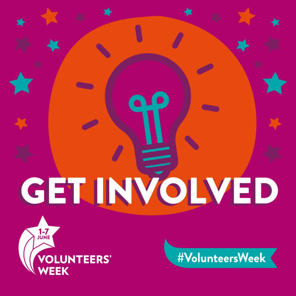 Volunteers' Week Get Involved Image