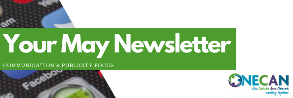 ONECAN Community Groups Newsletter – May 2021