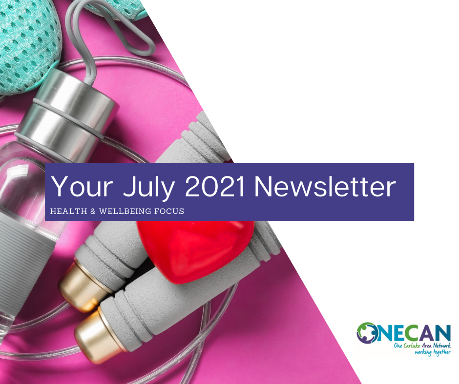 ONECAN Community Group Newsletter – July 2021
