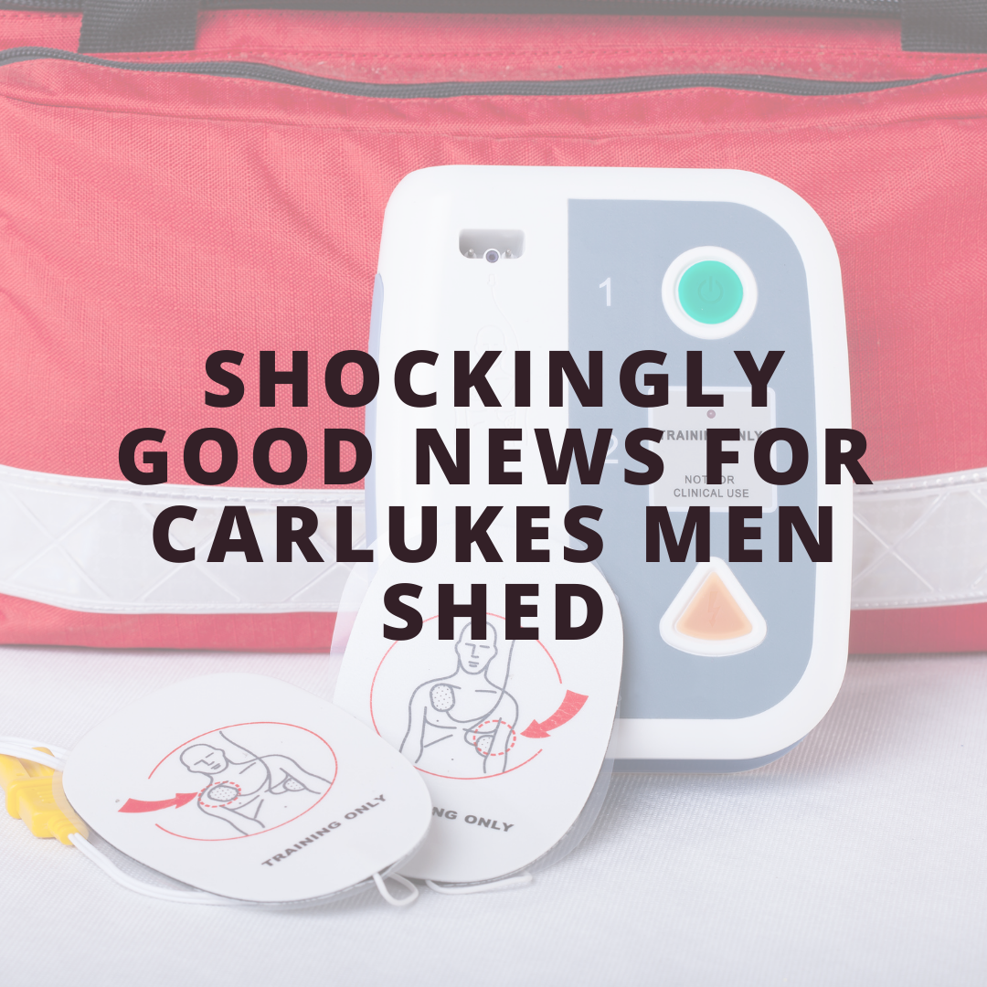 Shockingly Good News for Carluke Men's Shed