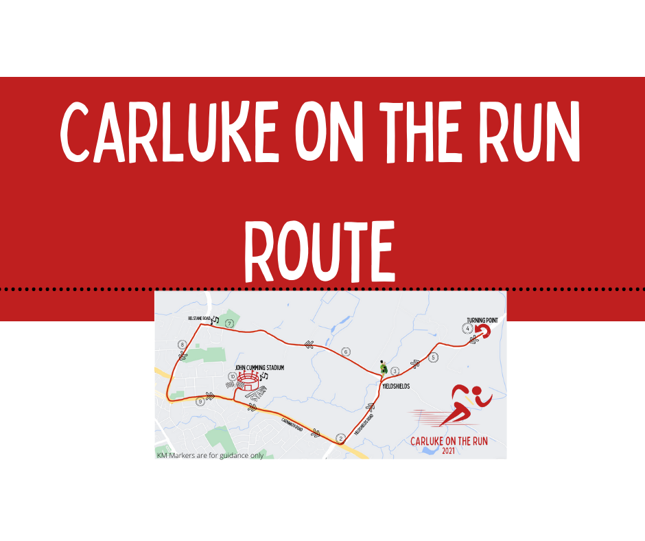 Carluke on the Run Route Map is live!