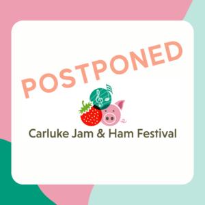 Jam and Ham Festival Postponed