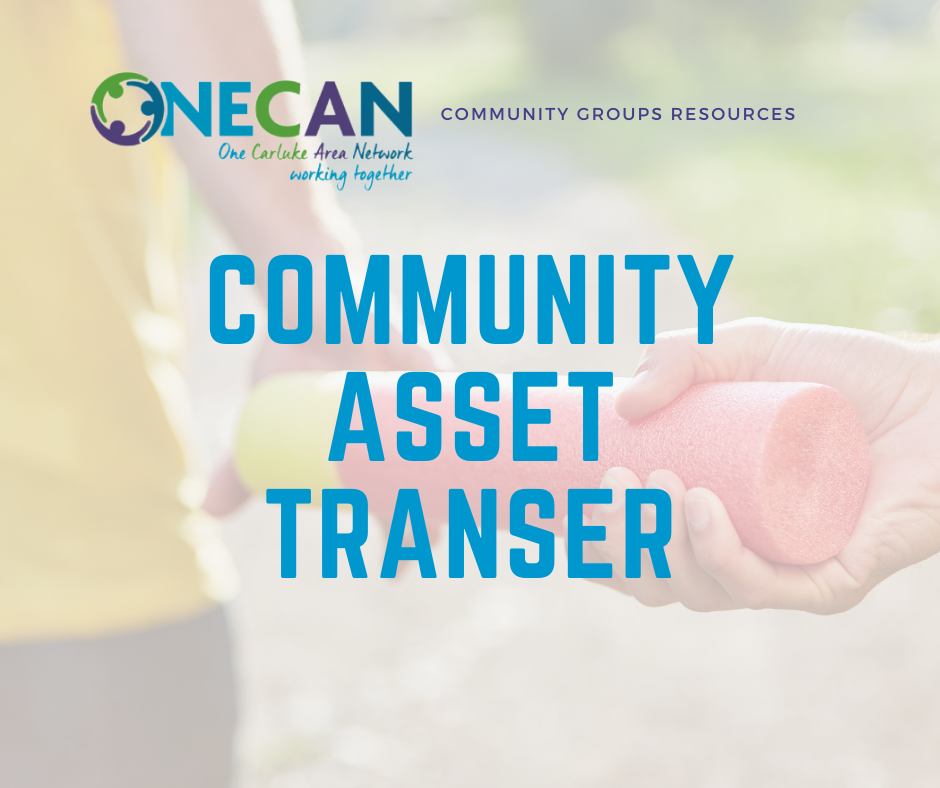 ONECAN Toolkit: Community Asset Transfer